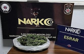 Eskişehir'de uyuşturucu operasyonu...2 kilo 300 gram skunk ele geçirildi