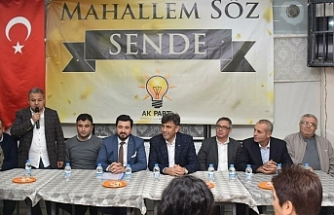 "AK Parti Tepebaşı'ndan  ""Mahallem Söz Sende"" programı"