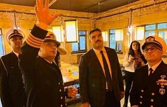 Rektör Çomaklı, Doğu Akdeniz 2019 tatbikat bölgesini ziyaret etti