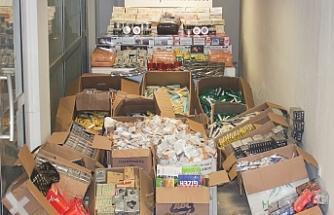 Yasa dışı yollarla sigara üreticimi yapan şahıslara KOM baskını