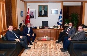Eskişehirspor'dan Rektör Çomaklı'ya ziyaret