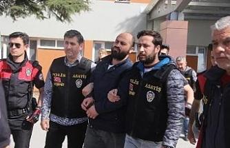 ESOGÜ katliamı zanlılarına tehdit suçundan 1'er yıl 8'er ay hapis
