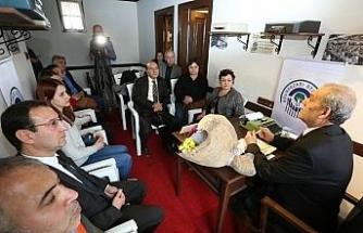 Gazetecilik söyleşilerinin ilk konuğu Başkan Karaca oldu