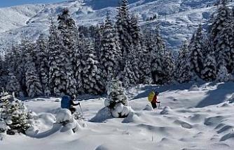Uludağ'da kaybolan 2 dağcı için Eskişehir'den destek