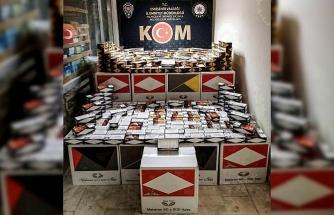 KOM ve Yunus Timlerinden şok 'kaçak tütün' baskını