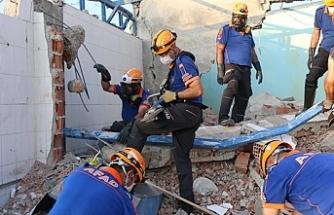 7 kişinin hayatını kaybettiği patlamanın 5'inci gününde çalışmalar sürüyor