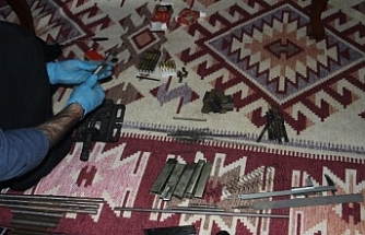 Eskişehir'de silah kaçakçılığı operasyonu: 2 gözaltı