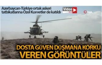 Azerbaycan-Türkiye ortak askeri tatbikatlarına Özel Kuvvetler de katıldı