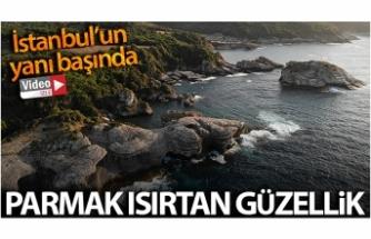 İstanbul'un yanı başında, parmak ısırtan görüntüler