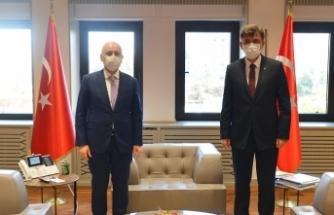 Başkan Çalışkan, Bakan Karaismailoğlu ile bir araya geldi