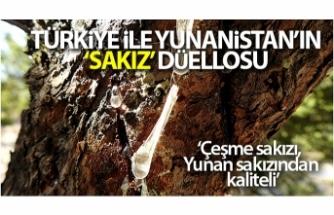 Türkiye ile Yunanistan'ın 'sakız' düellosu