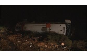 Eskişehir'de otobüs kazası: 3 yaralı