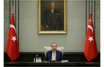 Başkan Erdoğan Kabine'yi koronavirüs gündemiyle topluyor