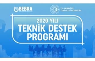 BEBKA'DAN 10 PROJEYE DESTEK