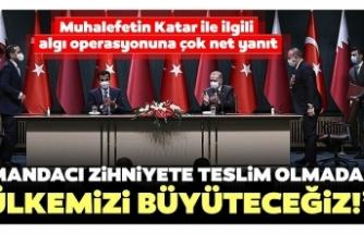"""İletişim Başkanı Altun: """"Mandacı zihniyete teslim olmadan ülkemizi büyüteceğiz"""""""