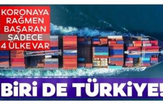 Türkiye ihracatını artıran 4 ülkeden biri
