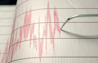 3.9 büyüklüğünde deprem meydana geldi