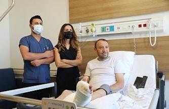 Kronik Yara Bakım Servisi iyileşmeyen yaralara merhem oluyor