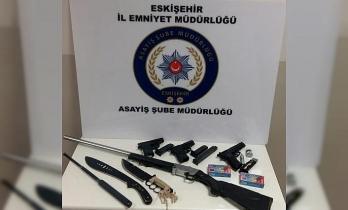 Hava ateş eden 4 şahıs polis ekiplerince yakalandı