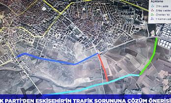 AK Parti'den Eskişehir'in trafik sorununa çözüm önerisi