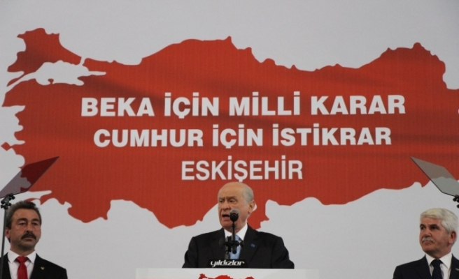 MHP lideri Bahçeli CHP'ye yüklendi