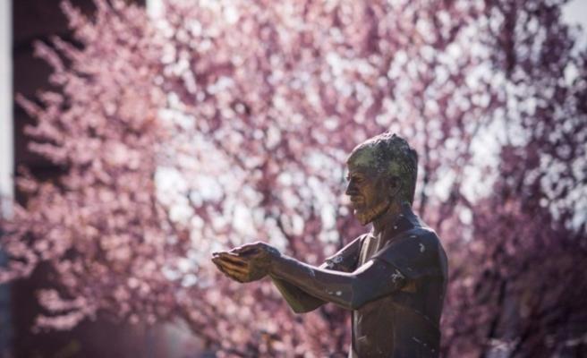 Ali İsmail Korkmaz heykeli yenileniyor