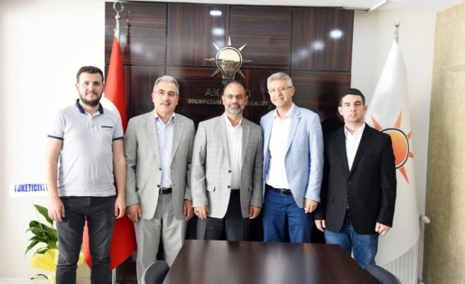 Başkan Acar'a hayırlı olsun ziyaretleri devam ediyor