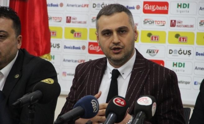 Eskişehirspor Başkanı Kaan Ay görevini bıraktığını açıkladı