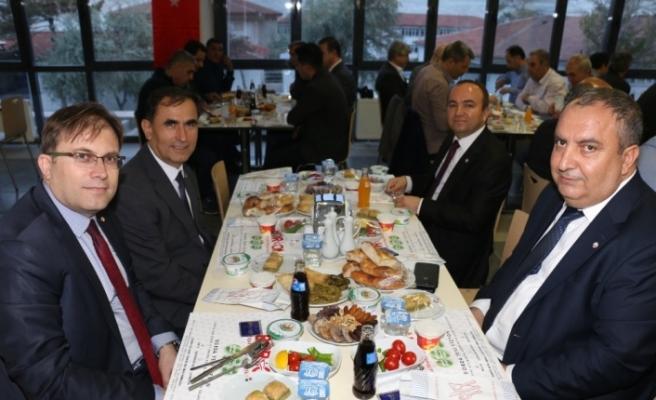 Eti Maden Kırka Bor İşletmesinde iftar programı