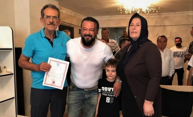 Ediz Bahtiyaroğlu'nun ailesine verilen söz 7 yıllık sonra tutuldu