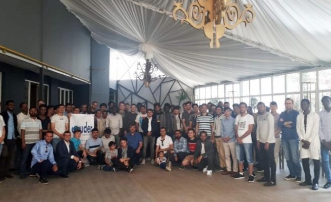 Uluslararası öğrenciler Eskişehir'de bayramlaştı