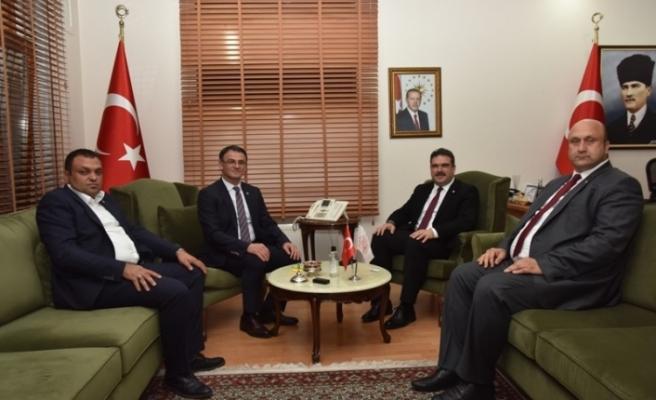 Anadolu Üniversitesi Rektörü Çomaklı, Tokat'ta