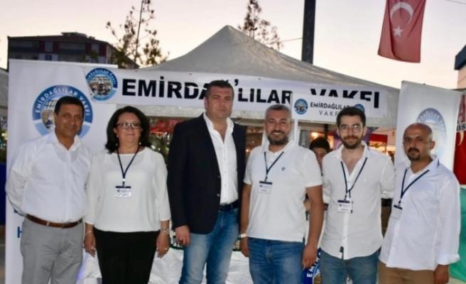 Emirdağlılar Vakfı 'Gurbetçi Festivali'n katıldı