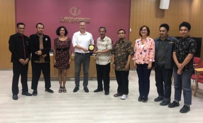 Endonezya Negeri Malang Üniversitesi'nden Anadolu Üniversitesi'ne ziyaret