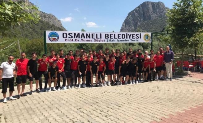 Eskişehirspor ekibi Osmaneli'nde