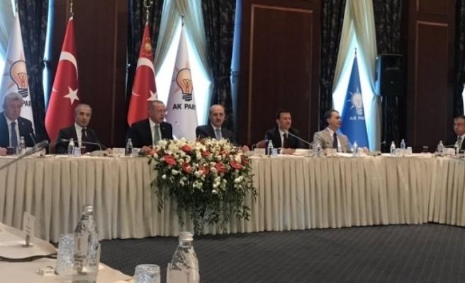 Günay, Cumhurbaşkanı'na sel mağdurlarının ihtiyaçlarını iletti