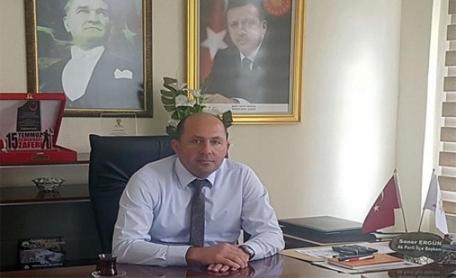 İlçe Başkanı Ergün'den makam aracı kullandı iddialarına sert tepki