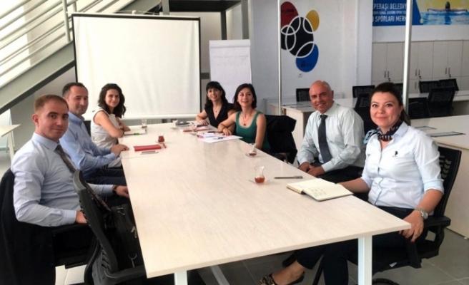 ILO ve Çalışma Bakanlığı yetkilileri Sosyal Kuluçka Merkezi'ni tanıdılar
