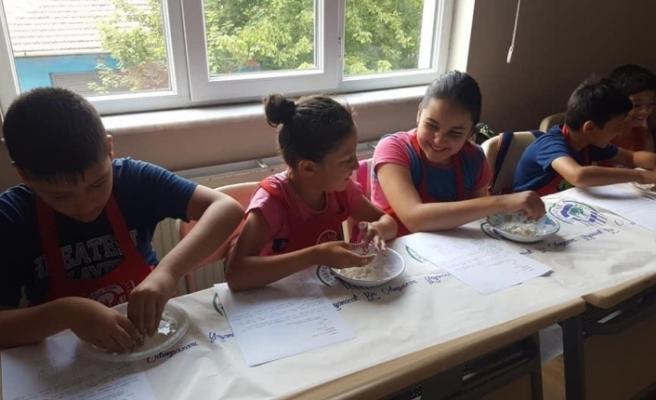 Odunpazarı'nda çocuklar eğlenerek öğreniyor