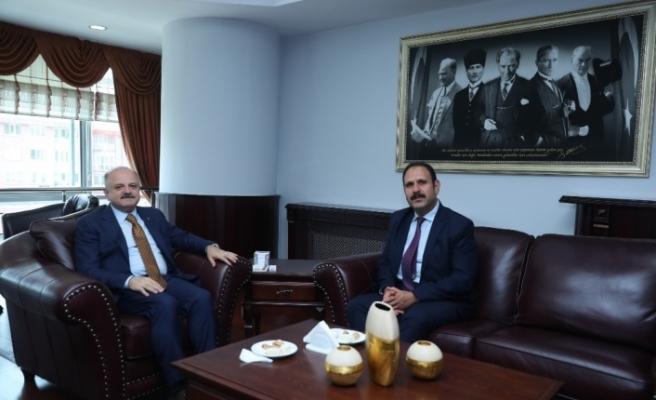 Vali Çakacak'tan Cumhuriyet Başsavcısı İrcal'a ziyaret