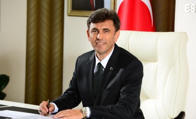 Başkan Çalışkan'dan AK Parti'nin 18. kuruluş yıldönümü mesajı