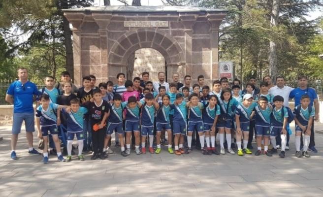 Eskişehir Gökmeydan Spor Kulübü, 'Ecdadın izinde tarih, kültür ve spor' gezilerine başladı