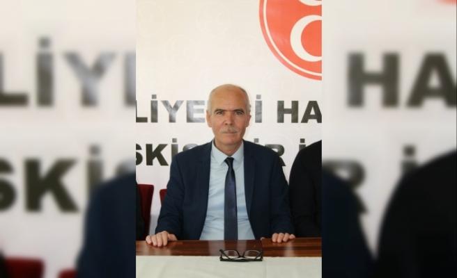 MHP Eskişehir İl Başkanı İsmail Candemir'den Kurban Bayramı mesajı