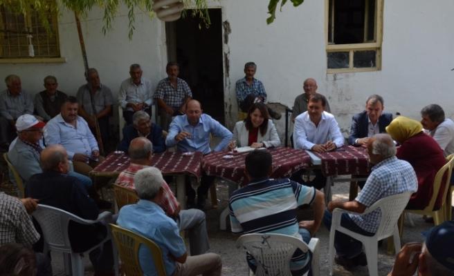 Milletvekili Günay ilçe ziyaretlerine devam ediyor