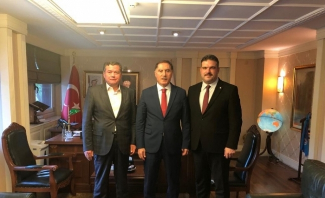 Rektör Çomaklı'nın Ankara temasları