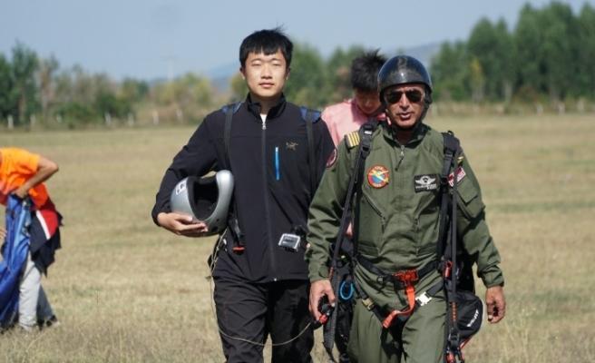 Uçmak için Çin'den Türkiye'ye geldiler