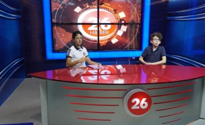 12 yaşındaki spor programı sunucuları