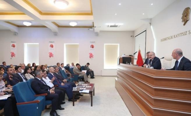 2019-2020 Eğitim ve Öğretim Yılı Öncesi Okul Güvenliği toplantısı