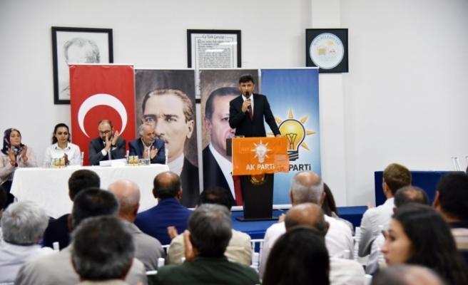 AK Parti Eskişehir'de ilçe danışma toplantıları gerçekleştirildi