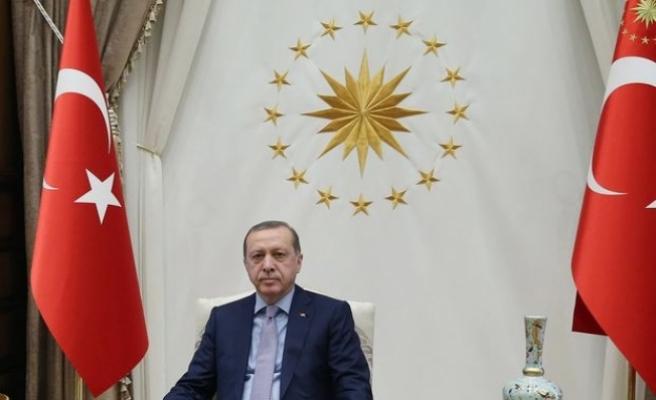 """Erdoğan'dan """"Ankara'nın başkent oluşunun 96. yıl dönümü"""" mesajı"""